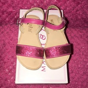 Maggie And Zoe Toddler Girl Shoes Size 7